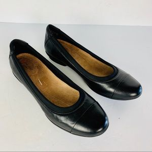 Unstructured by Clark's Shoes 9.5 M Black Leather